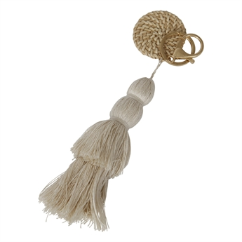 Picture of Keychain/Bag charm Jasmine, off white