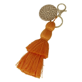 Picture of Keychain/Bag charm Jasmine, orange