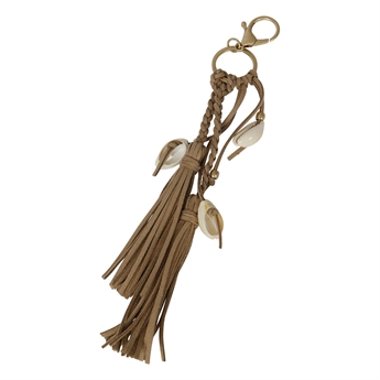 Picture of Keychain/Bag charm Emmy, beige