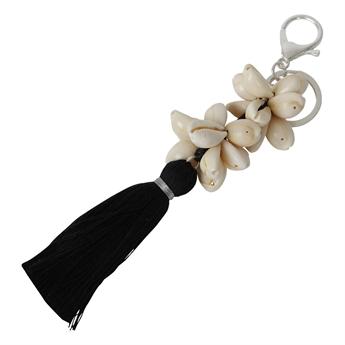Picture of Keychain/Bag charm Cornelia, black