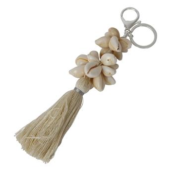 Picture of Keychain/Bag charm Cornelia, off white