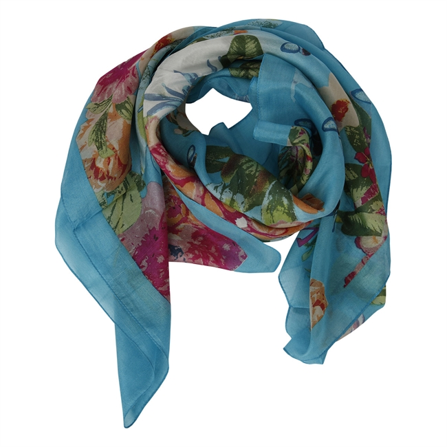 Picture of Scarf Wilma, turquoise