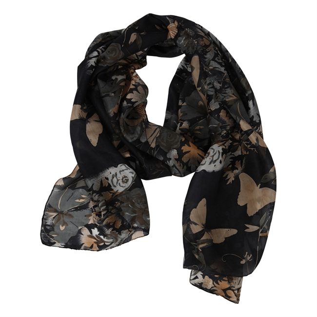 Picture of Scarf Olivia, black