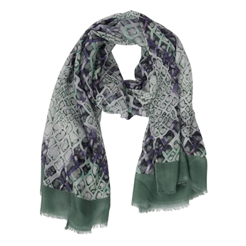 Picture of Scarf Elin, khaki mix