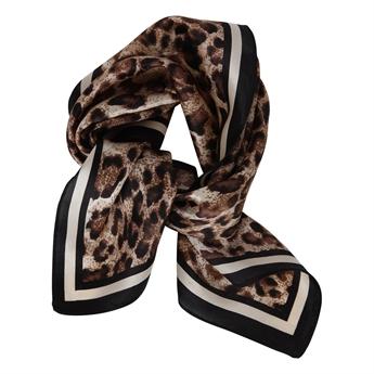 Picture of Mini scarf Clara, brown mix