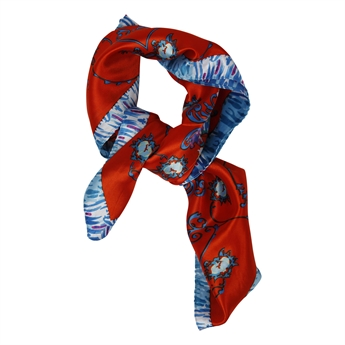 Picture of Mini scarf Ester, blue