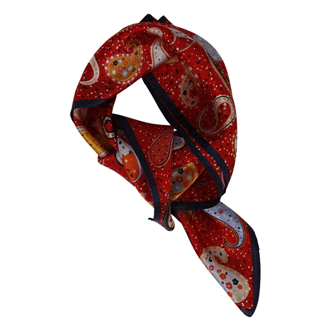 Picture of Mini scarf Julia, red mix