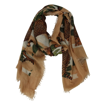 Picture of Scarf Amelie, beige mix