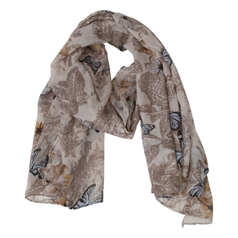 Picture of Scarf Butterfly, beige