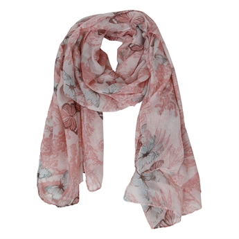 Picture of Scarf Butterfly, pink
