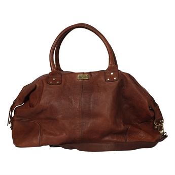 Picture of Weekend bag London, brown leather