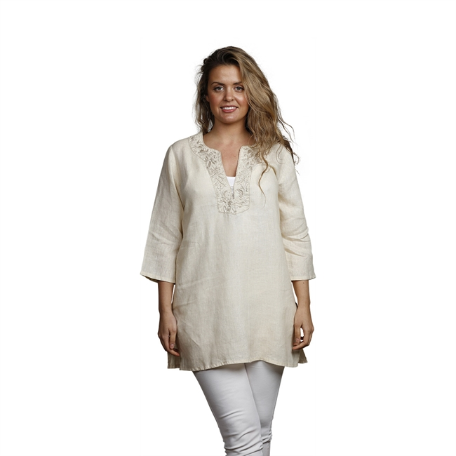 Picture of Tunic Belle, Size Large 1234421, beige