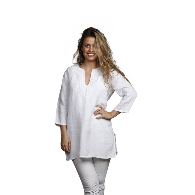 Picture of Tunic Belle, Size Large 1234501, white