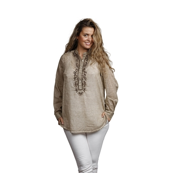 Picture of Tunic Anna, size Medium 1234621, beige/gold