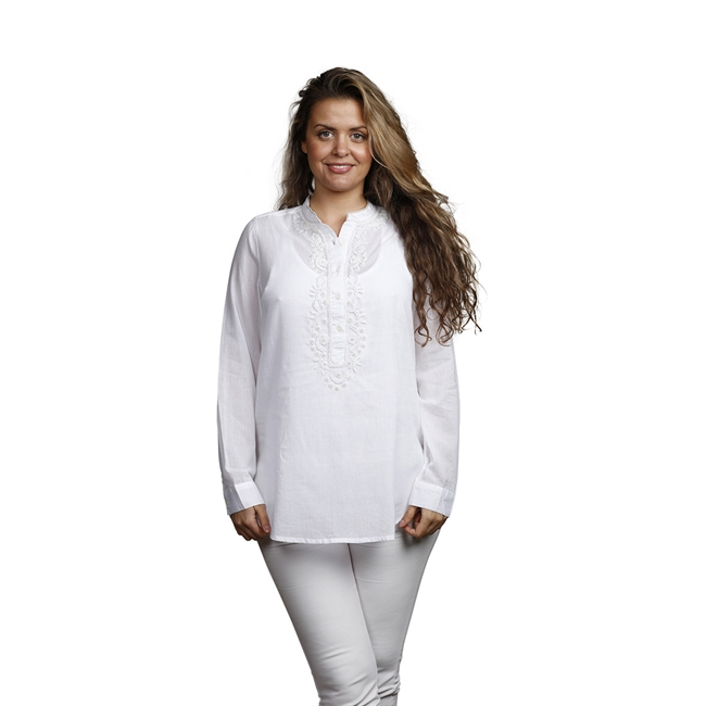 Picture of Tunic Anna, size Medium 1234701, white