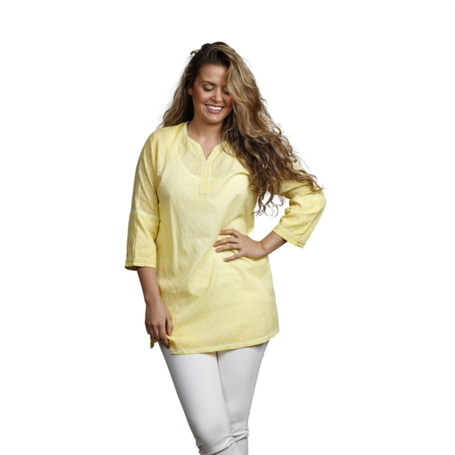 Picture of Tunic Tracey, size Large 1235370, yellow