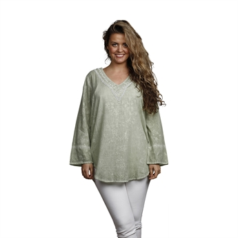 Picture of Tunic Nicole, size Large 1235960, lt green