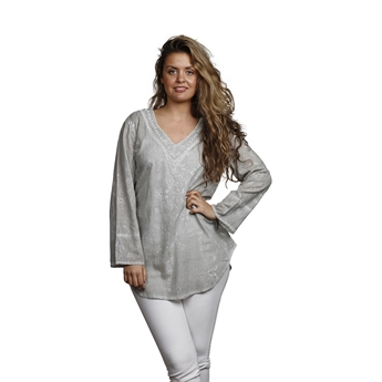 Picture of Tunic Nicole, size Medium 1236010, grey