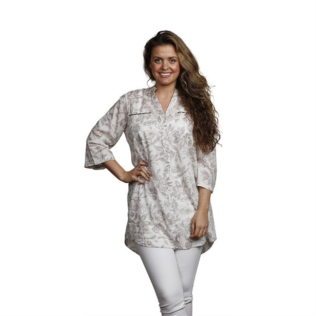 Picture of Tunic Cattis, size Xtra Large 1236601, white/beige
