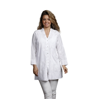 Picture of Tunic Karin, size Large 1229901, white
