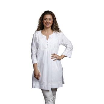 Picture of Tunic Maria, size Medium 1230101, white
