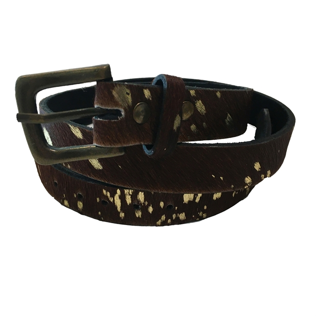 Picture of Belt Julia, brown/gold