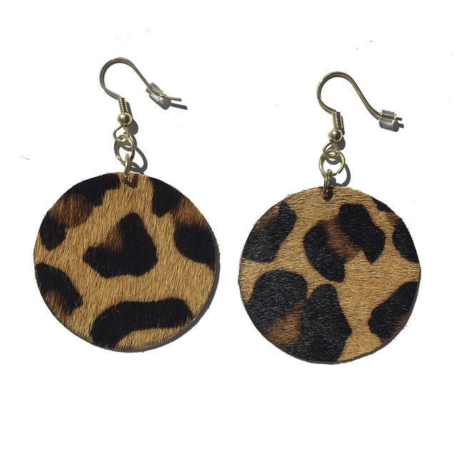 Picture of Earring Valentina, brown mix