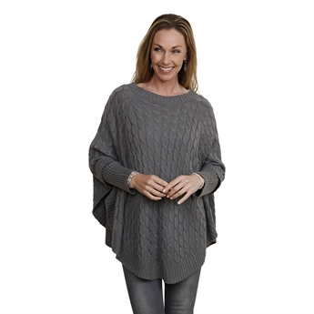Picture of Poncho Fiona, grey
