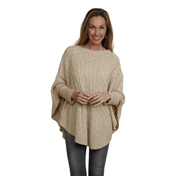 Picture of Poncho Fiona, beige