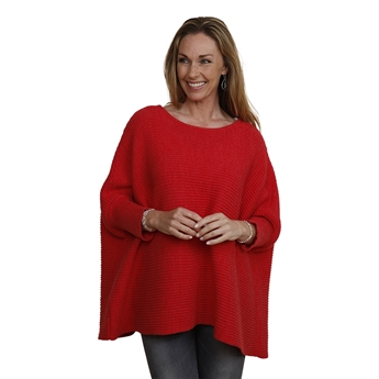 Picture of Poncho Nora, red