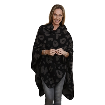 Picture of Poncho Brielle, grey/black