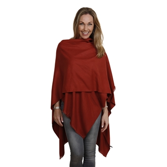 Picture of Poncho Davos, brick red