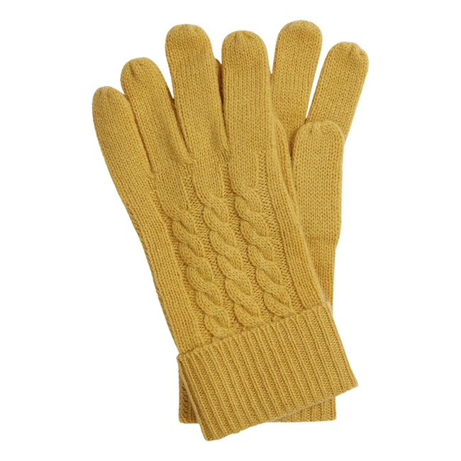 Picture of Gloves Zermatt, mustard