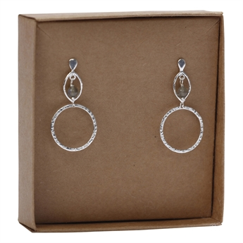 Picture of Earring Alessandra, silverp/labradorite