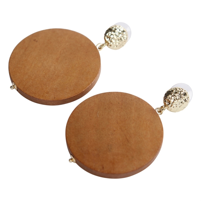 Picture of Earring Moca, brown
