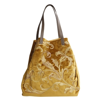 Picture of Shoulder bag Mary, mustard