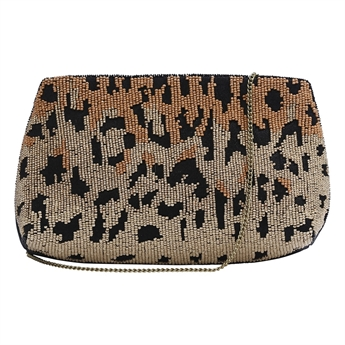 Picture of Clutch bag Alice, black/gold