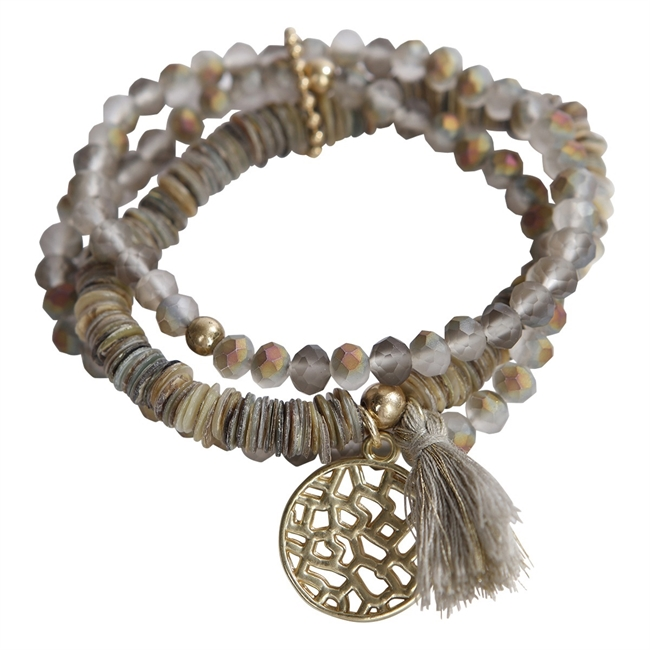 Picture of Bracelet Alexia, taupe