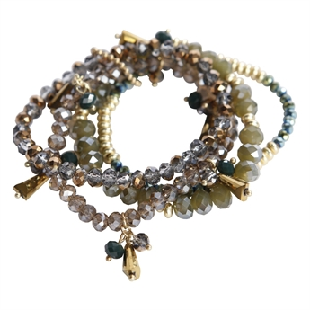 Picture of Bracelet Lenox, khaki/gold