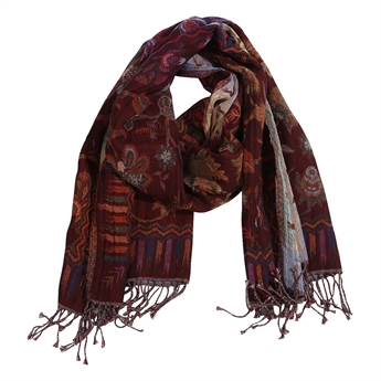 Picture of Scarf Victoria, red mix