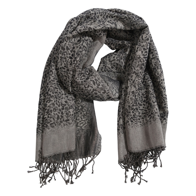 Picture of Scarf Zoey, grey mix