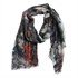 Picture of Scarf Paisly, green mix