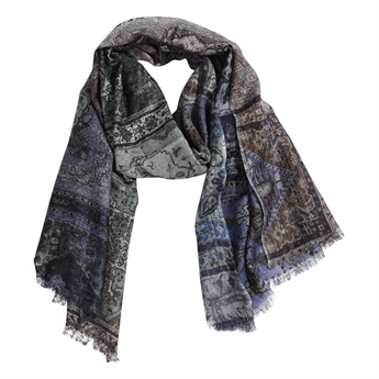 Picture of Scarf Anna, blue mix