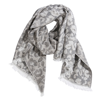 Picture of Scarf Clara, black/ivory multi