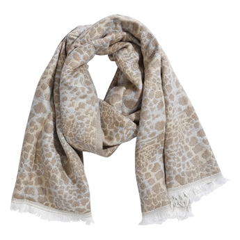 Picture of Scarf Aubree, beige/grey