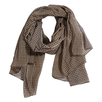 Picture of Parero/scarf Jasmine, grey/mustard