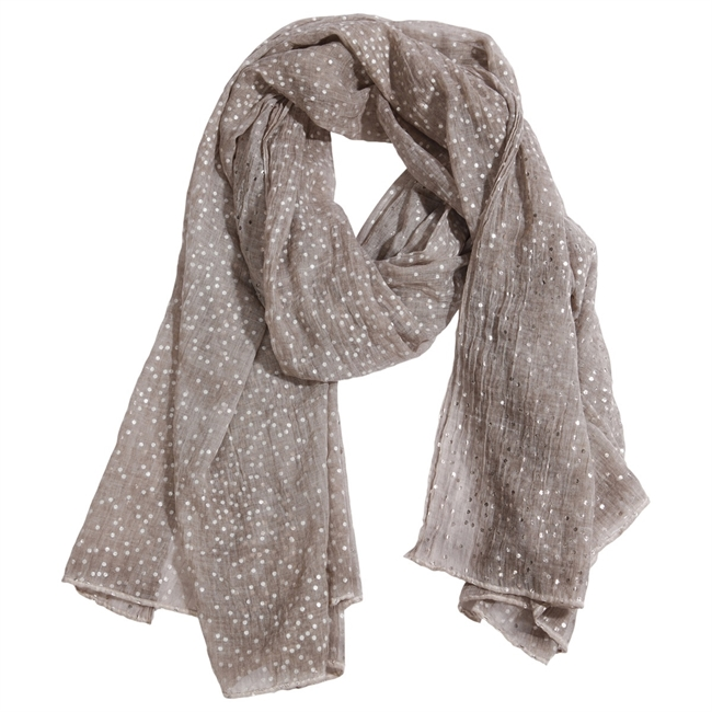 Picture of Scarf Chloe, taupe