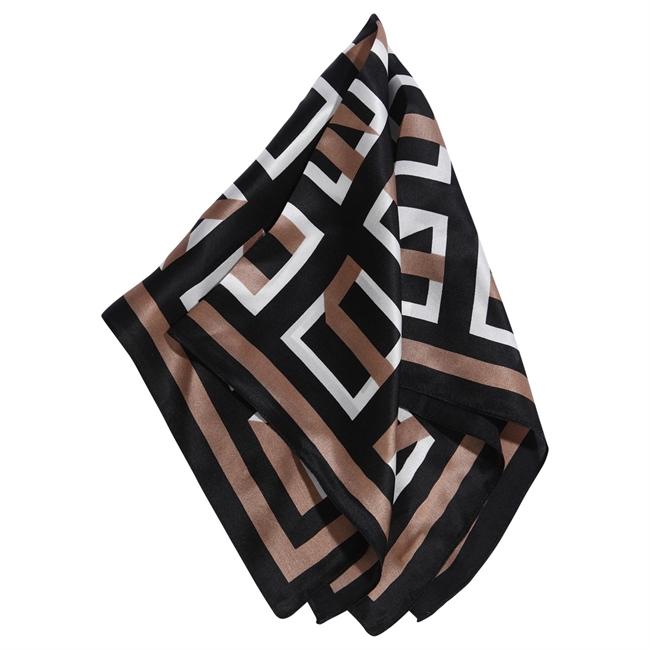 Picture of Mini scarf Katherine, black/beige