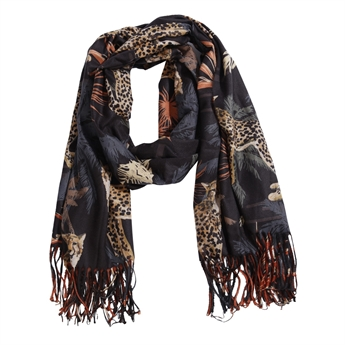 Picture of Scarf Athena, dk blue/rusty