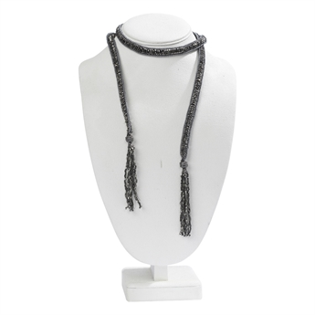 Picture of Necklace Norah, gun metal